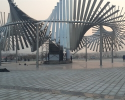 济南不锈钢广场雕塑